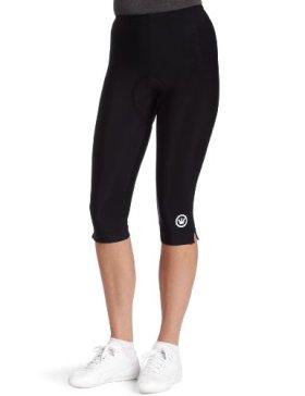 Canari Cyclewear Women's Pro Tour Gel Knicker Padded Cycling Short (Black, X-Large)