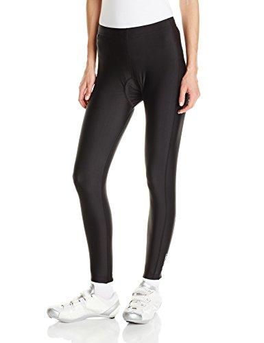 Canari Cyclewear Women's Gel Cycle Tights, Black, Medium