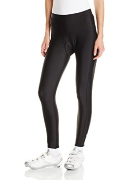 Canari Cyclewear Women's Gel Cycle Tights, Black, Large