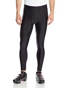 Canari Cyclewear Men's Veloce Pro Cycle Tights, Black, Medium