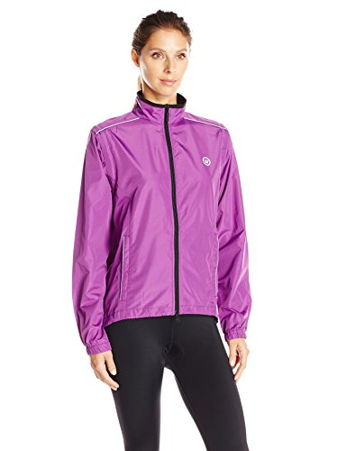 Canari Women's Tour Convertible Jacket, Imperial Purple, Small