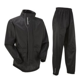Tenn Unisex Active Cycling Jacket & Trouser Set – Black – Sml / 16