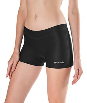 Baleaf Women's 3D Padded Cycling Underwear Breathable Cool Mesh