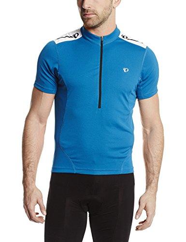 Pearl Izumi Men's Select Short Sleeve Quest Jersey, Mykonos Blue, X-Large