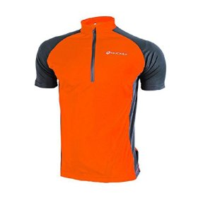 Nuckily Mens Cycling Short Sleeve Cycling Jersey Cycling Clothing Outdoor Bike Sportswear for Male Comfortable Breathable Quick Dry