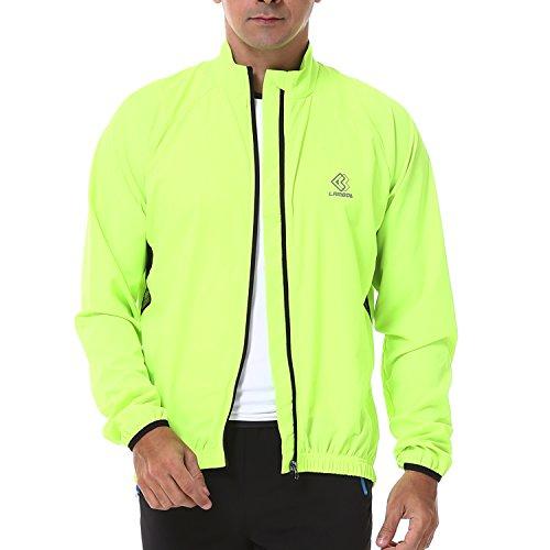 4ucycling Lambda Men's Windproof Cycling Jacket Quick Dry Outdoor Windbreaker Jacket