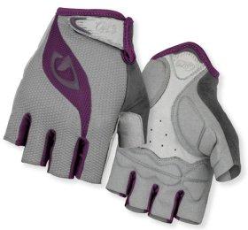 Giro Women's Tessa Gloves, Charcoal/Plum, Small