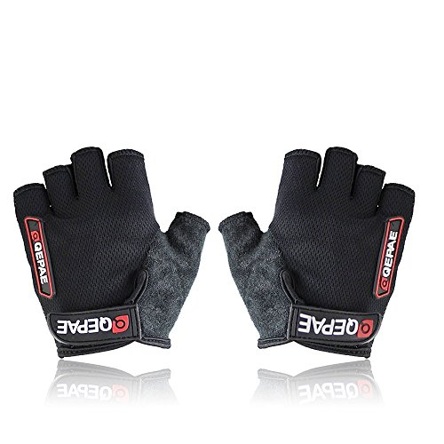Ultra-breathable Silicone and Anti-slip Half Finger Cycling Bike Bicycle Gel Gloves
