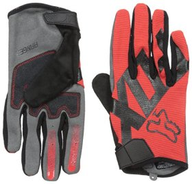 Fox Racing Ranger Mountain Bike Gloves, Red, Medium