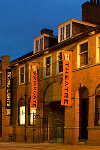 Friargate Theatre At Night