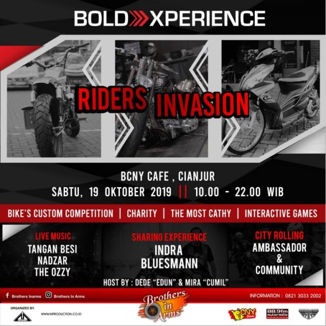 WARNING..PREPARE AND ENJOY GAES!!!!-BOLD XPERIENCE RIDERS INVASION