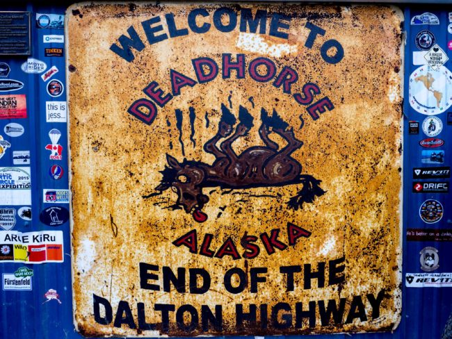 Cycling The Dalton Highway: Nothing Good Happens at Night