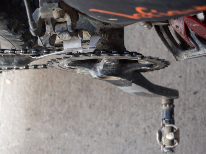 Front derailleur set up