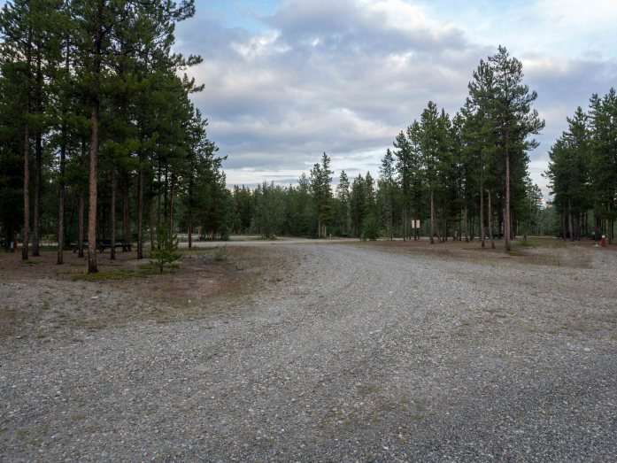 The campground.