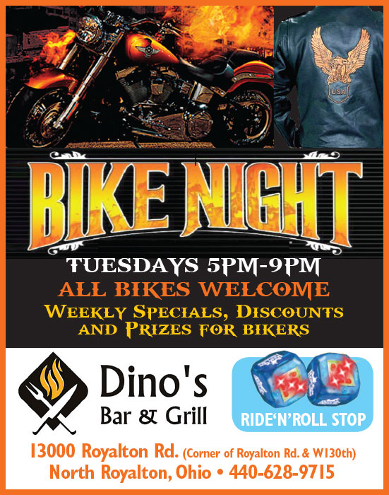 Dinos Bar and Grill Ad