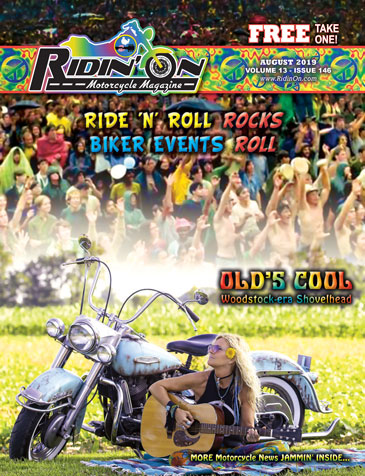 Ridin' On August 2019 Cover