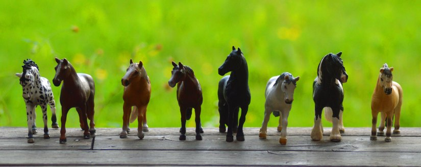 leksakshästar