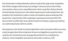 Pemahaman Tenaga Metafisik yang keliru dari Perdana Akhmad 09