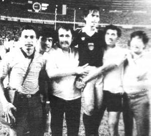Jajang Nurdjaman Mencetak Gol Kemenangan Persib atas Perseman 1986