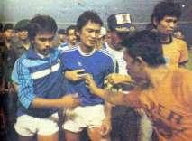 Final Perserikatan 1985 : Persib – PSMS