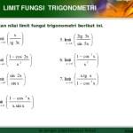 Rumus The King Limit Fungsi Trigonometri