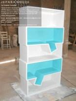 ridwan sunaryo,bentuk desain rak buku kreatif,model rak buku whatsapp unik,rak buku minimalis,furniture rak buku kreatif,jepara goods furniture