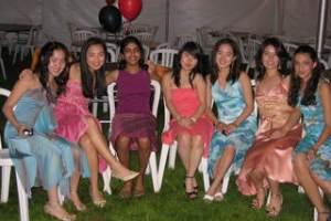 春のパーティの写真