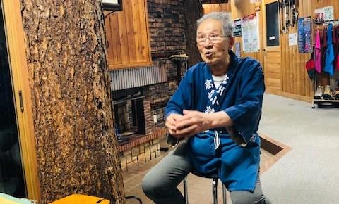 ランプの宿✨高峰温泉、3代目大旦那は84歳。