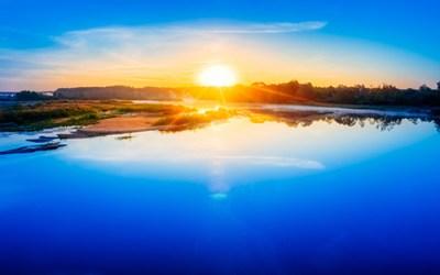 De zon is er altijd