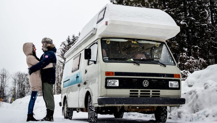 Vanlife in Wintertime
