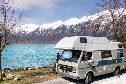 Parking by Lake Brienz