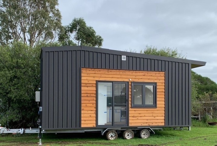Tiny house built during COVID-19 pandemic