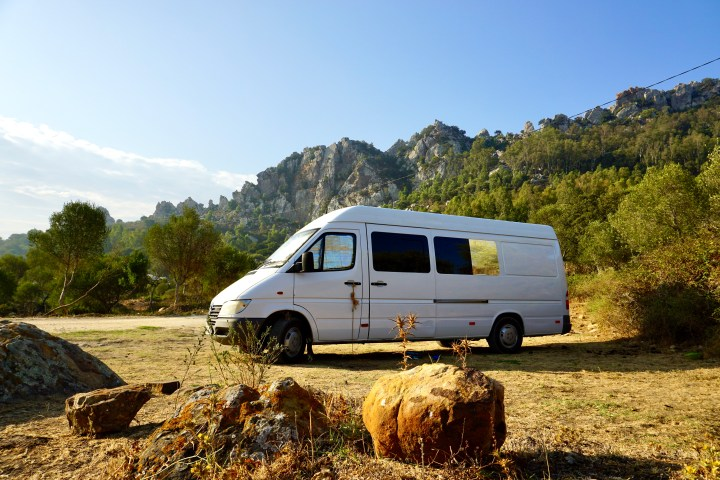 Sprinter campervan long wheel base