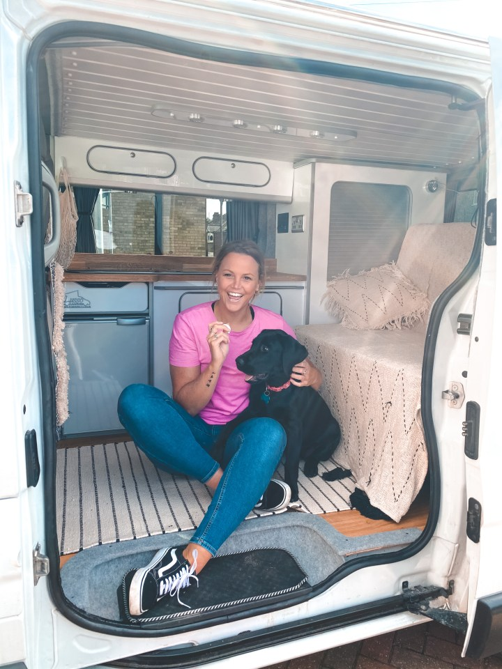 Tiny Off-Grid Campervan ready to explore Europe