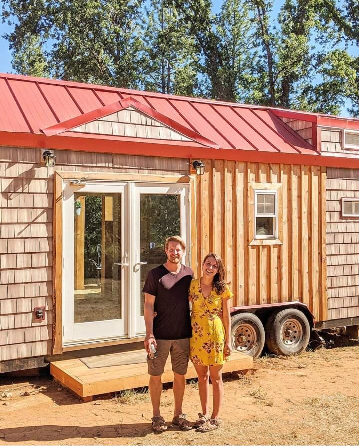 couple built they dream tiny house