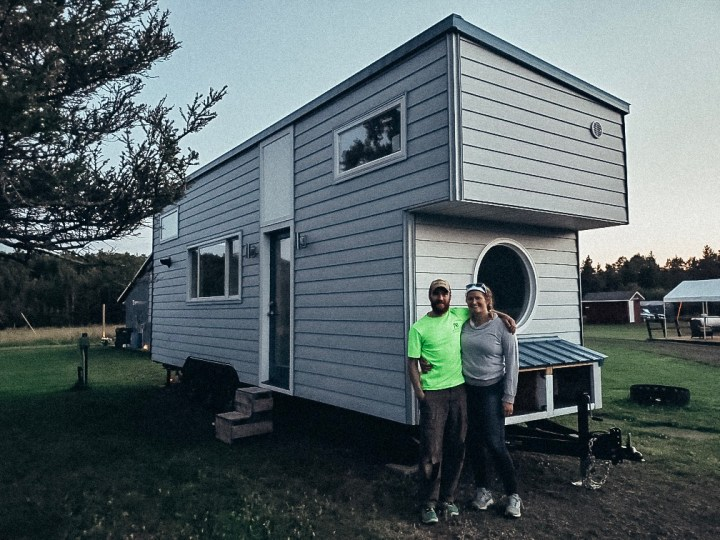 Amazing DIY 224 Sq. Ft. Tiny House