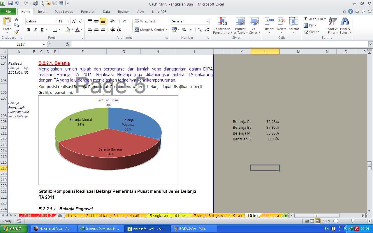 Catatan Atas Laporan Keuangan Calk V2 0