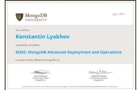 M202: MongoDB Advanced Deployment and Operations