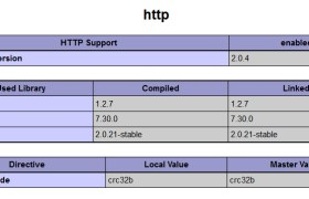 pecl_http in phpinfo