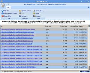 FileOptimizer on Wine in Linux