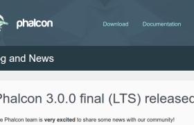 Phalcon 3.0 final LTS