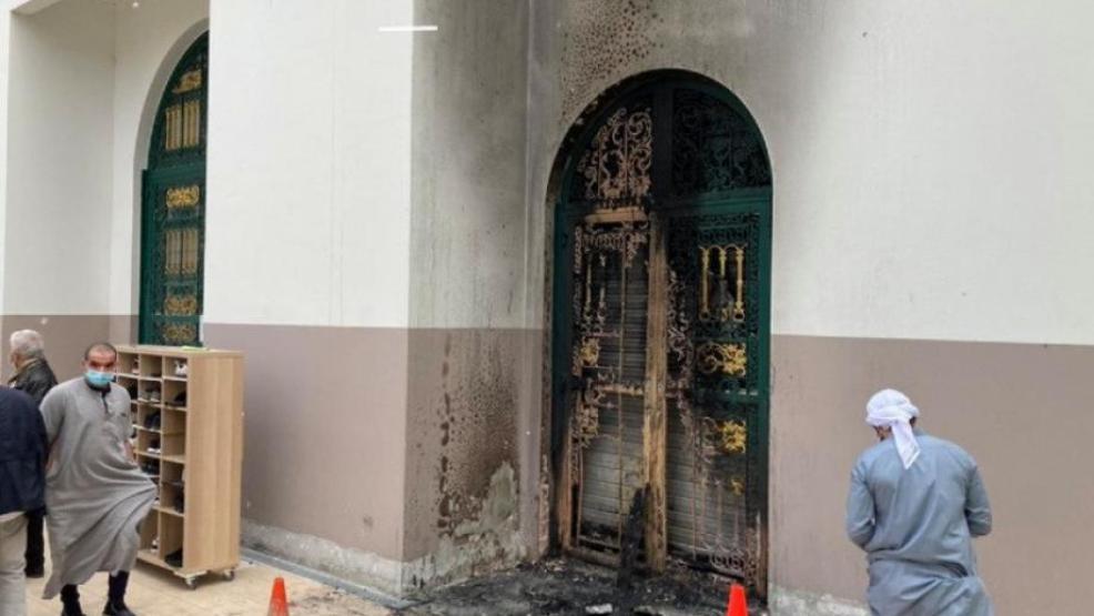 فرنسا.. إضرام النار في مسجد بمدينة ألبيرفيل