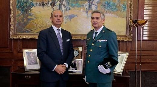 """قائد الحرس المدني الإسباني في مليلية يدعم """"موقفا أوروبيا حازما"""" ضد المغرب"""