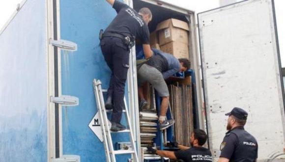 توقيف مغاربة كانوا مختبئين في شاحنات متوجهة إلى إسبانيا