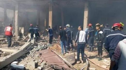 خمسة قتلى و16 جريحا في انفجار جراء تسرب للغاز بالجزائر