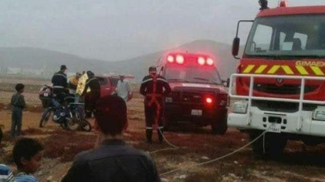 صادم: الفيضانات تجرف تلميذة بوزان