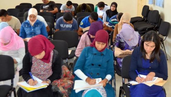 ورشة تربوية حول كيفية الاستعداد للامتحانات من تنظيم جمعية الانفتاح للعمل التنموي بأزغنغان