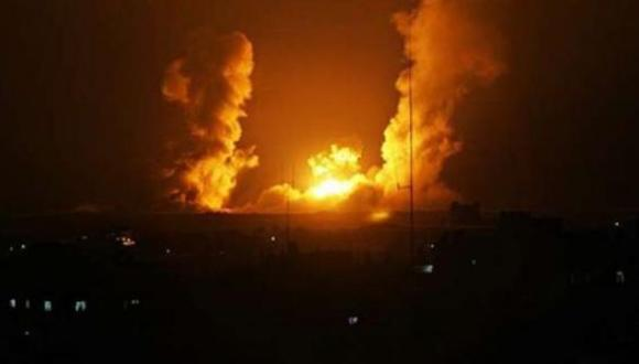 بالفيديو.. حريق ضخم يلتهم بناية إسرائيلية إثر استهدافها بشكل مباشر بصواريخ المقاومة الفلسطينية