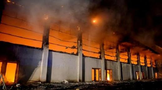 حريق بمركز للاجئين في ألمانيا يتسبب في إصابة 20 شخصا والفاعل مغربي