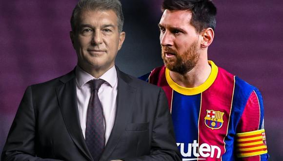 رئيس برشلونة في مأزق بسبب ميسي